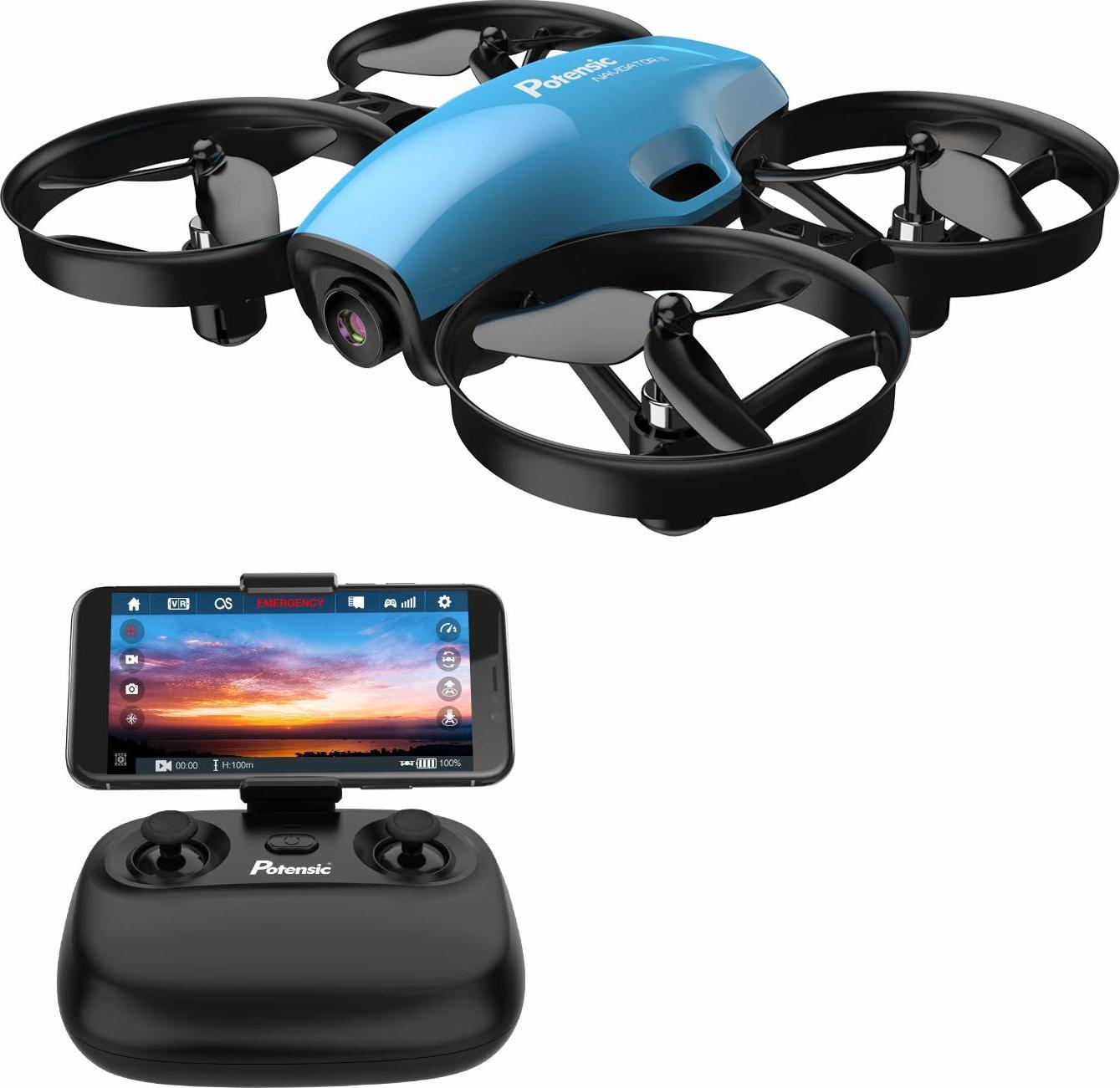 MiniDrone Potensic con cámara HD